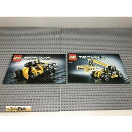 LEGO® 8045 Bauanleitung NO BRICKS!!!! Technic