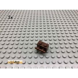 LEGO® 1Stk 1x2x1 mit Griff Brick Braun, Brown  154