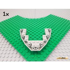 LEGO® 1Stk Boot / Keil / Rumpf 8x10 alt-hellgrau 2622