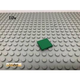 LEGO® 10Stk 2x2 Platte Fliese Grün, Green 3068 35