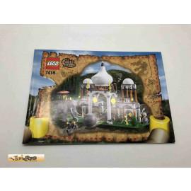 Lego 7418 Bauanleitung NO BRICKS!!!! Orient Expedition