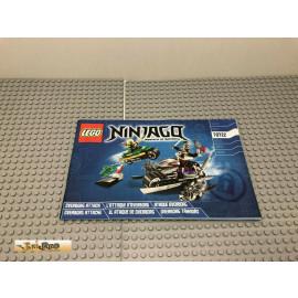 LEGO® 70722 Bauanleitung NO BRICKS!!!! Ninjago