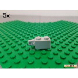 LEGO® 5Stk Technic 1x2 Scharnier 1 Finger alt-hellgrau 30364