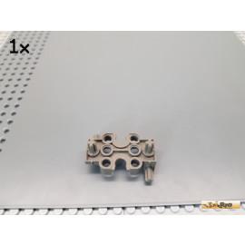 LEGO® 1Stk Bionicle Slizer / Achse / Getriebe Halter Hälfte alt-dunkelgrau 32167