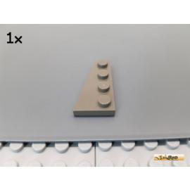 LEGO® 1Stk Flügelplatte / Keilplatte links 2x4 alt-dunkelgrau 41770