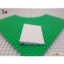 LEGO® 1Stk Schrägstein / Rampe / Platte / Pflasterstein 6x8 alt-hellgrau 4515