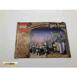 Lego 4735 Bauanleitung NO BRICKS!!!! Harry Potter