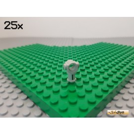 LEGO® 25Stk Technic Verbinder / Achs / Pin alt-hellgrau 3651