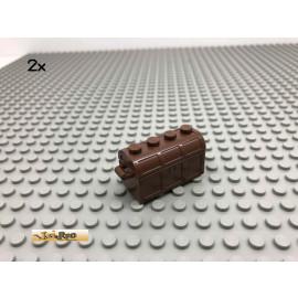 LEGO® 2Stk Schatzkisten Braun, Brown 4738 4739 94