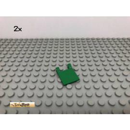 LEGO® 2Stk 2x2 Flagge Grün, Green 2335 187