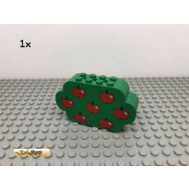 LEGO® 1Stk 2x8x4 Obstbaum Apfel Grün, Green 6214 214