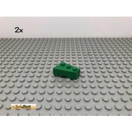LEGO® 2Stk 2x3 Keilstein Schrägstein Grün, Green 6564 28