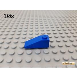 LEGO® 10Stk Dachstein / Schrägstein 1x3 blau 4286