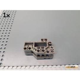 LEGO® 1Stk Technic Verbinder Motorblock / Kanone 7x3 alt-dunkelgrau 32305