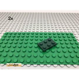 LEGO® 2Stk 2x3 Platte Plate Stein Dunkelgrün, Dark Green 3021 27