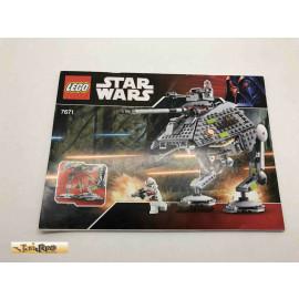 Lego 7671 Bauanleitung NO BRICKS!!!! Star Wars