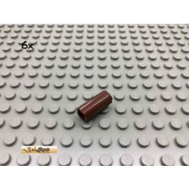 LEGO® 6Stk Technic Verbinder Kreuzachse Brick Rotbraun, Reddish Brown 6538 9