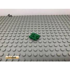 LEGO® 4Stk 1x2 Platte Plate mit Griff Grün, Green 2540 96