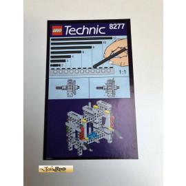 Lego 8277 Bauanleitung NO BRICKS!!!!