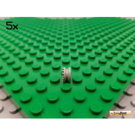 LEGO® 5Stk Technic Stopper gezahnt alt-hellgrau 4265b