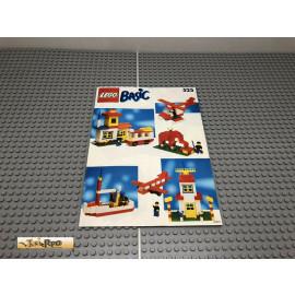 LEGO® 525 Bauanleitung NO BRICKS!!!!