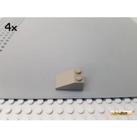 LEGO® 4Stk Dachstein / Schrägstein 2x3 alt-dunkelgrau 3298