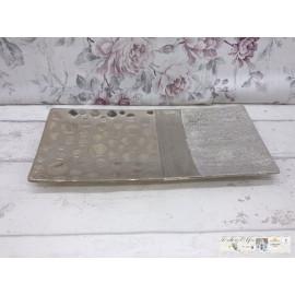 Gilde Dekoteller Keramik Schale Modern Teller groß Schüssel