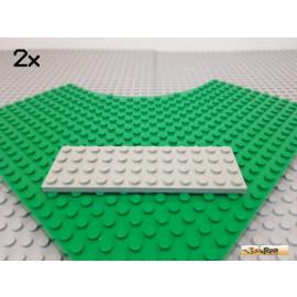 LEGO® 2Stk Platte Basic 4x12 alt-hellgrau 3029