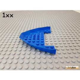 LEGO® 1Stk Keilstein / Rumpf / Boot / Bug 8x10x1 blau 2623