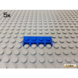 LEGO® 5Stk Platte 1x4 / Scharnier / Autodach blau 4315