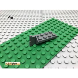 LEGO® 4Stk 2x4 Scharnier Gelenk Kupplung Dunkel Grau, Dark Gray 3639