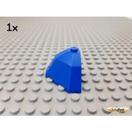 LEGO® 1Stk Dachstein / Dachecke rund / octagonal 3x3x2 blau 2463