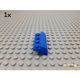 LEGO® 1Stk Bogenstein abgerundet 2x4x1 1/3 blau 6081