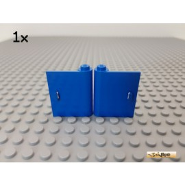 LEGO® 1Stk Tür / Türblatt 1x3x3 rechts + links blau 3192 / 3193