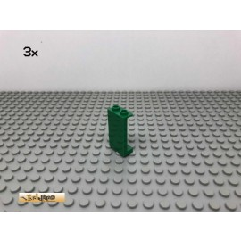 LEGO® 3Stk 1x2x3 Panel Grün, Green 87544 133