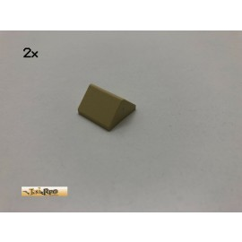 LEGO® 2Stk 45° 2x2 Schrägstein Brick Beige, Tan 3043 cb