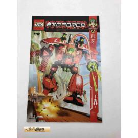 Lego 7701 Bauanleitung NO BRICKS!!!! Exoforce