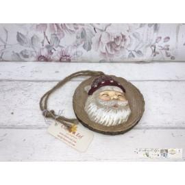 Clayre & Eef Vintage Hänger Weihnachtsmann Weihnachten 6PR1148