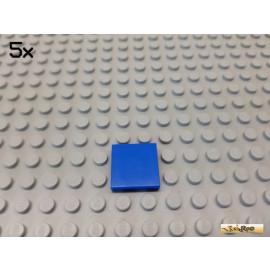 LEGO® 5Stk Fliese / Kachel 2x2 Basic blau 3068