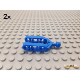 LEGO® 2Stk Technic Kugelgelenk / Lenkhebel blau 6572