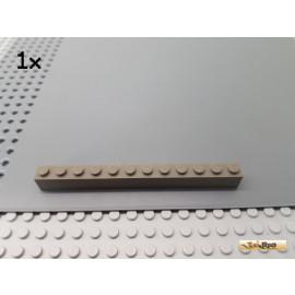 LEGO® 1Stk Stein Basic 1x12 alt-dunkelgrau 6112