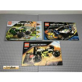 LEGO® 8469 8139  8492 Bauanleitung NO BRICKS!!!!