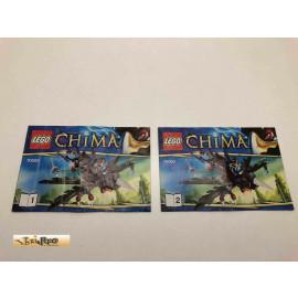 Lego 70000 Bauanleitung NO BRICKS!!!! Chima