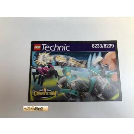 Lego 8233/8239  Bauanleitung NO BRICKS!!!!