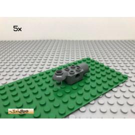 LEGO® Technic 5Stk 2x2 Rotationsgelenk Verbinder Dunkel Grau, Dark Gray 47452