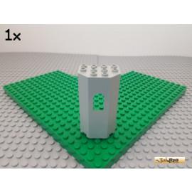 LEGO® 1Stk Paneel / Burg / Wand / Fenster 3x4x6 alt-hellgrau 30246