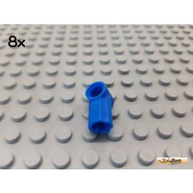 LEGO® 8Stk Technic Pin Verbinder Nr 1 blau 32013