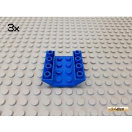 LEGO® 3Stk Schrägstein / Boot 4x4 45° negativ 4854