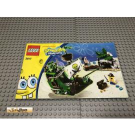 LEGO® 3817 Bauanleitung NO BRICKS!!!! SpongeBob