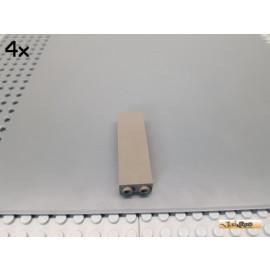 LEGO® 4Stk System Stütze / Säule 1x2x5 alt-dunkelgrau 2454